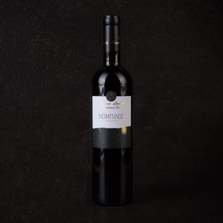 Κρασί Ερυθρό Ξηρό Γραμμένου 750Ml